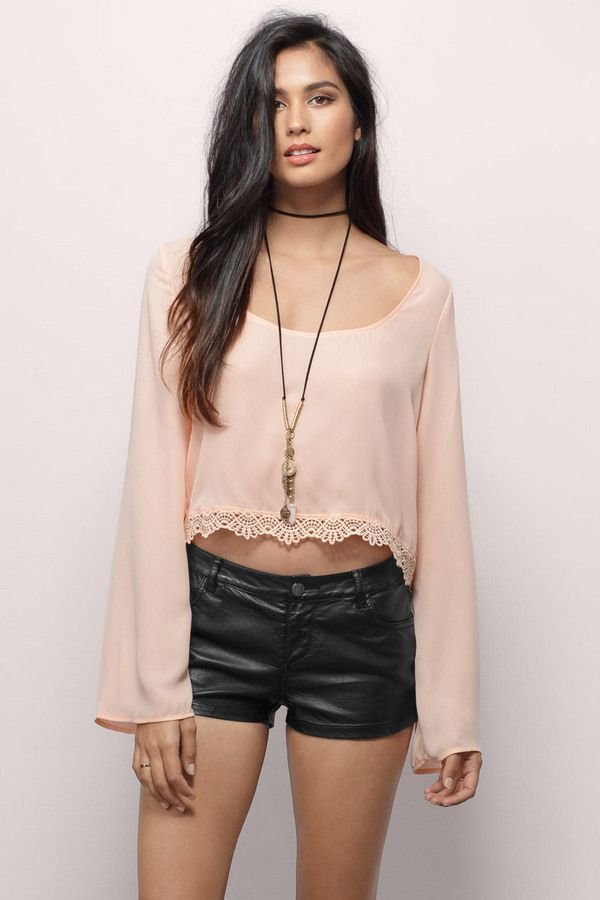 Adelisa Cropped Top at Tobi.com #shoptobi