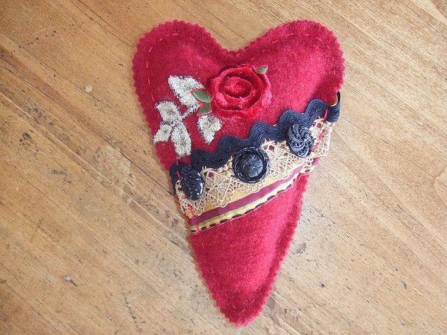 heart pocket sachet | Flickr - Photo Sharing!