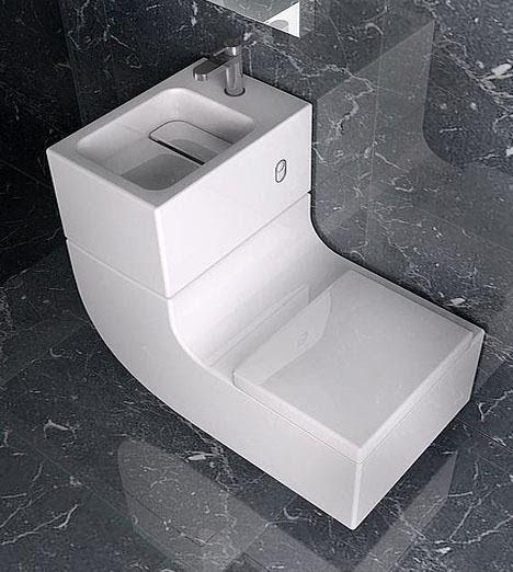 Lavadero inodoro 2 en 1 roca marca de art culos para - Inodoro y lavabo en uno ...