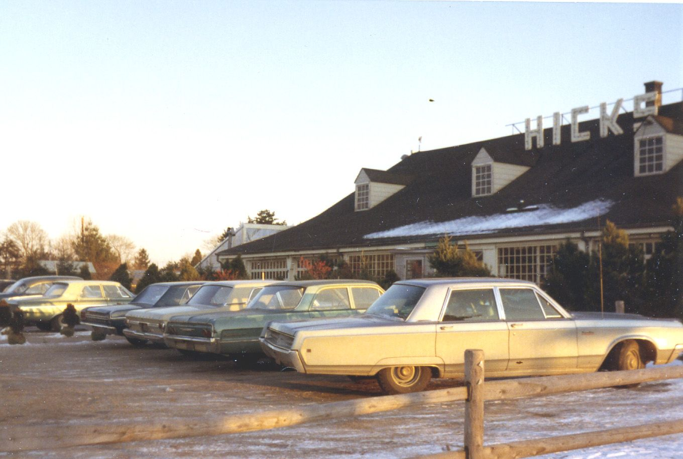 1969. Front Of Store With Cars. 160 Years History