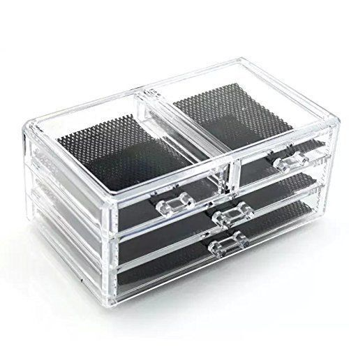 Vencer Clear Acrylic Makeup Organizers Jewelry Cosmetic Makeup
