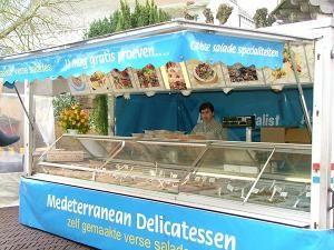 Mediterrane kraam in Baarn.