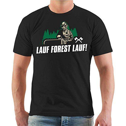 d822d0c16e5d0b Männer und Herren T-Shirt Lauf Forest Lauf Größe S - 8XL  tshirt sprüche