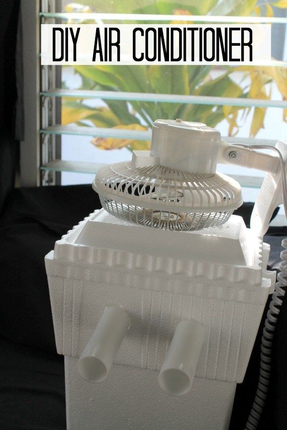 Diy Air Conditioner With Images Diy Air Conditioner Homemade Air Conditioner
