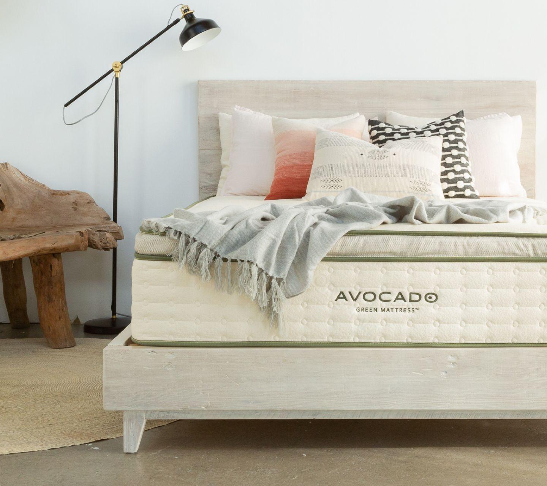 Natural Wood Bed Frame Twin Wood Bed Frame Green Mattress Bed Frame