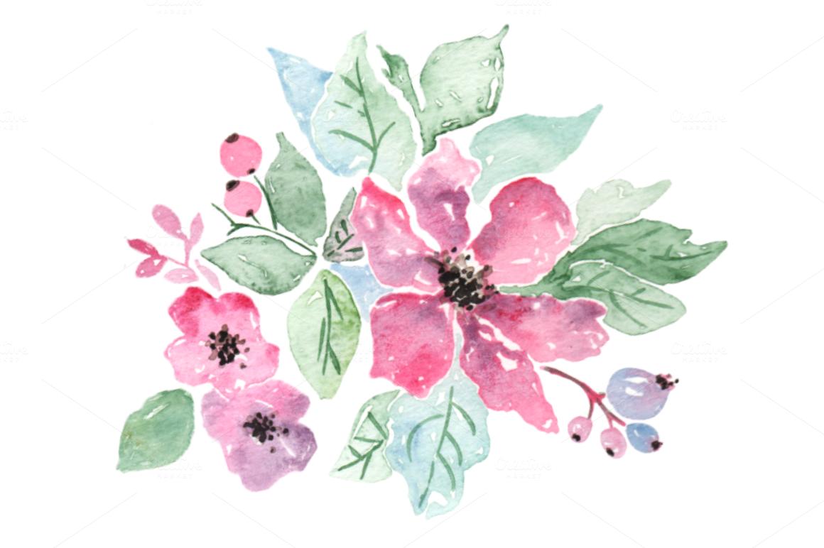 Fleur Mauve Claire