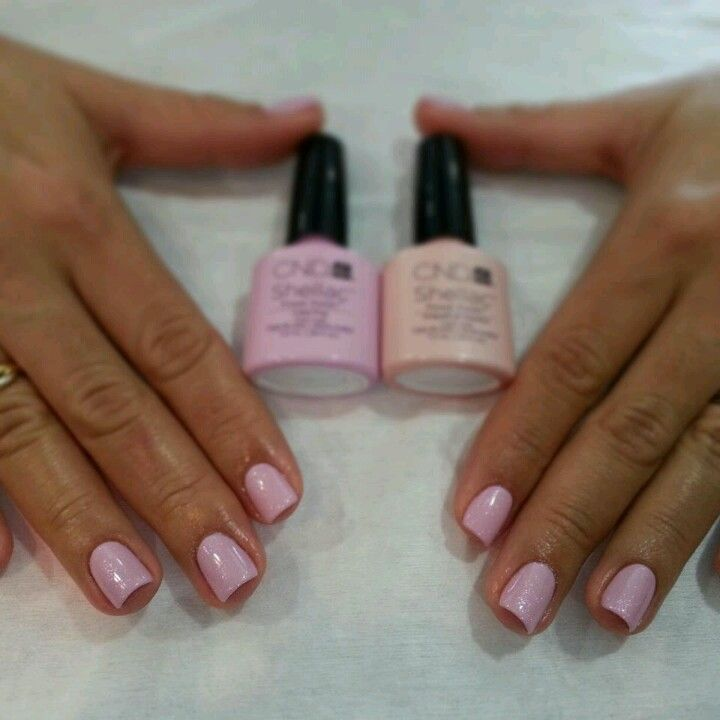 Shellac Oooo And My Favorite Pastel Pink Color
