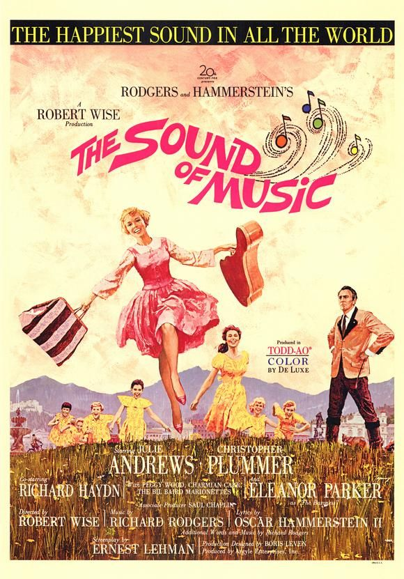 The Sound of Music. My all time favorite movie. :)