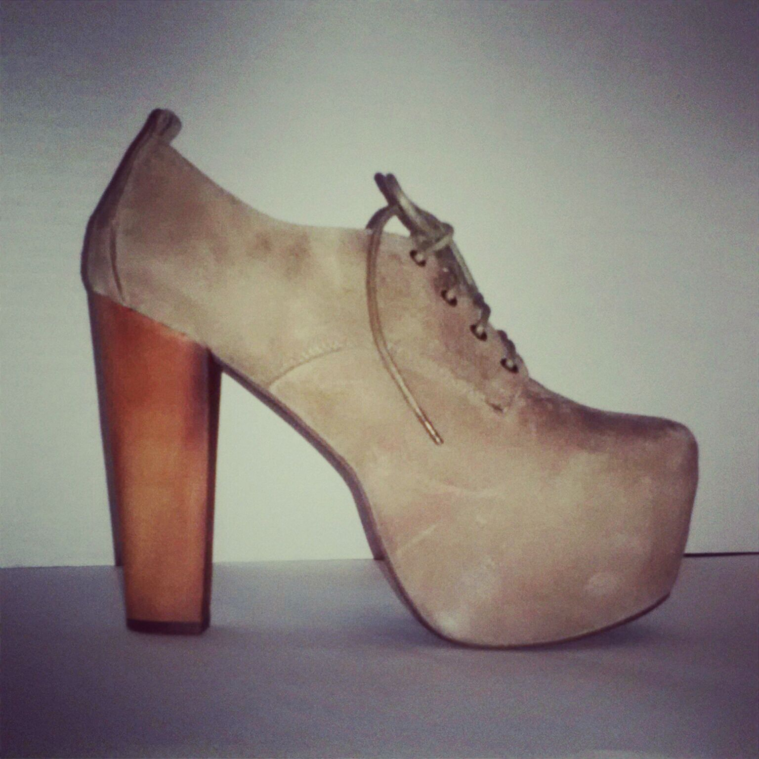#JeffreyCampbell #Fairlane in Taupe from #NastyGal