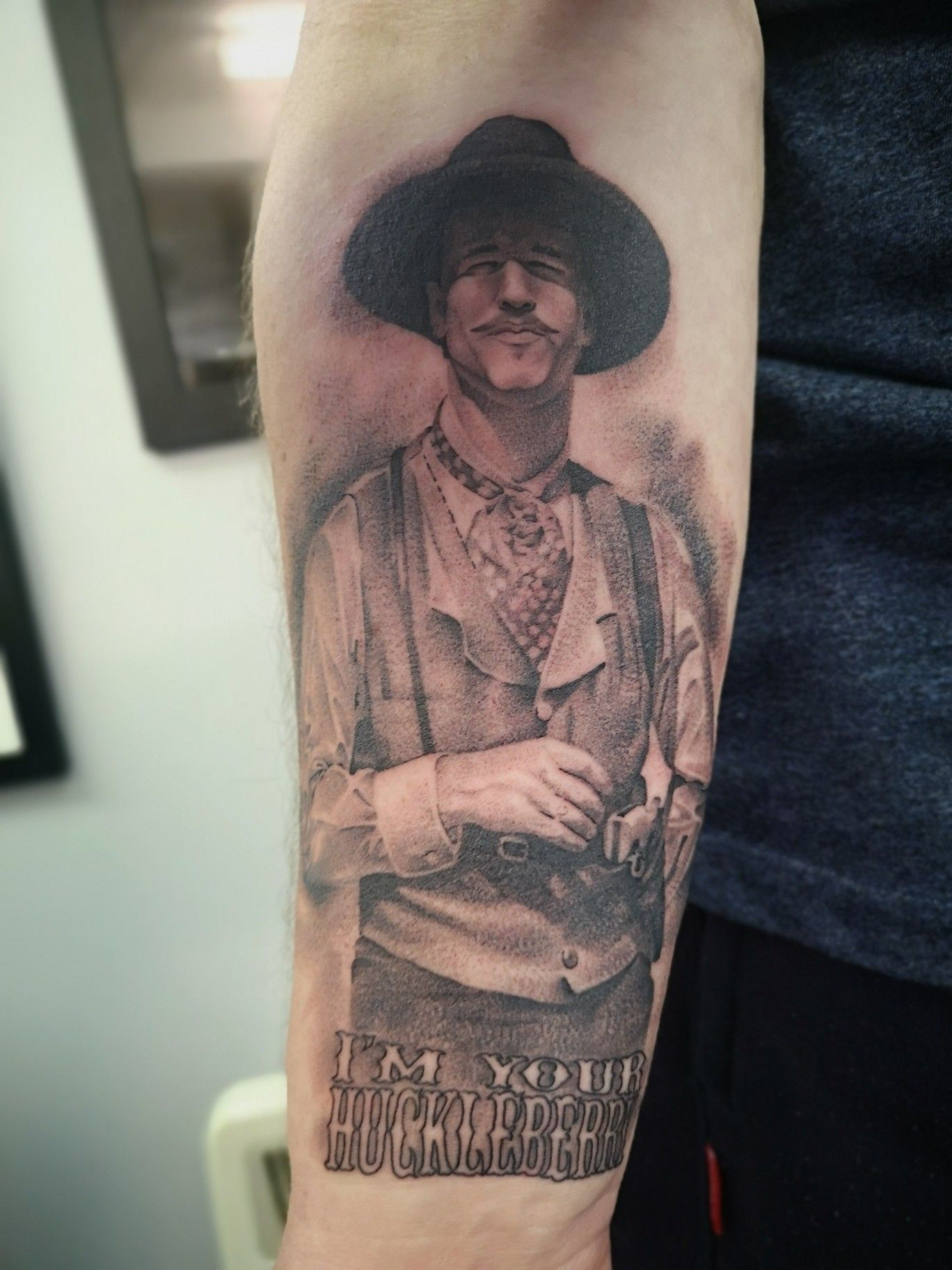 Tombstone Movie Tattoos : tombstone, movie, tattoos, Holliday, Tattoo, Image, Collection