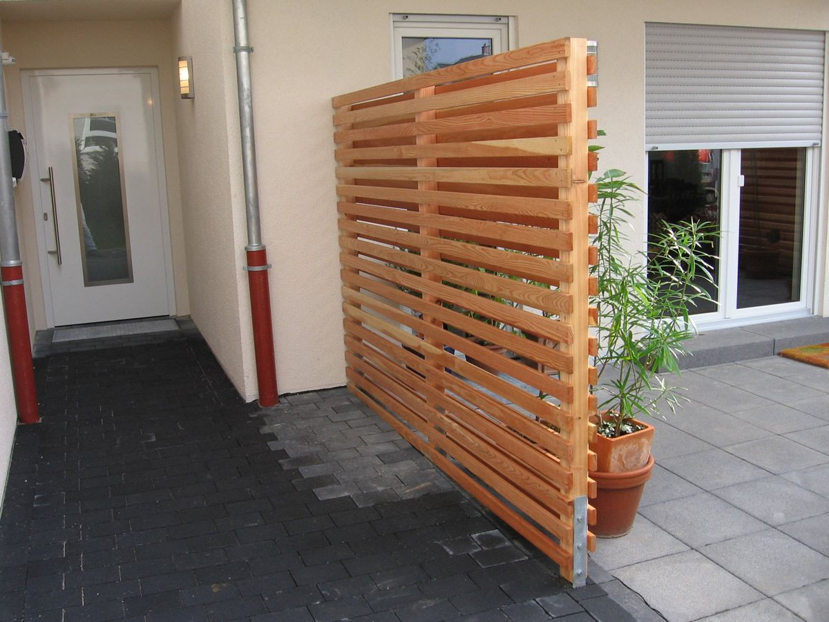 Holz Windschutz Terrasse Image Result For Wrought Iron Double Gate With Privacy