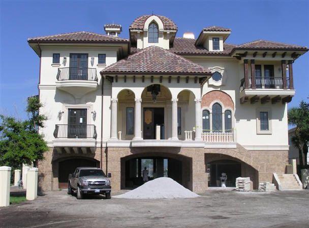 Venetian Italian style villa palazzo Renaissance palace luxury home