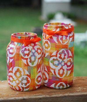 Cute Craft Idea Diy Glass Jar Lanterns