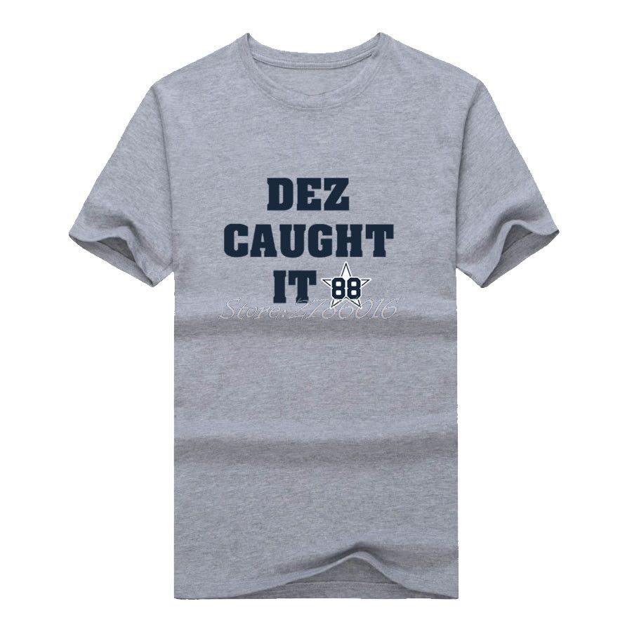 Click to Buy    Men DEZ CAUGHT IT  88 Dez Bryant Dallas T-shirt ... f4ec85b25