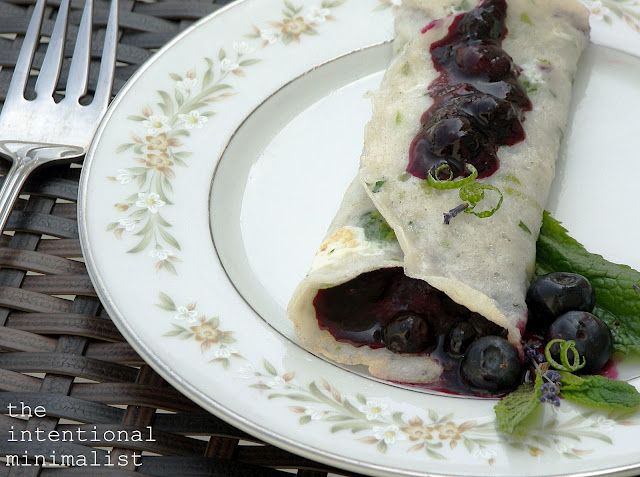 Another simple GF Crepe recipe from tapioca flour