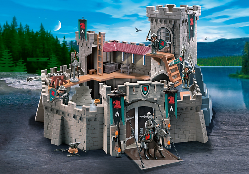 Falcon Knights Castle Playmobil Link To Instructions Kids