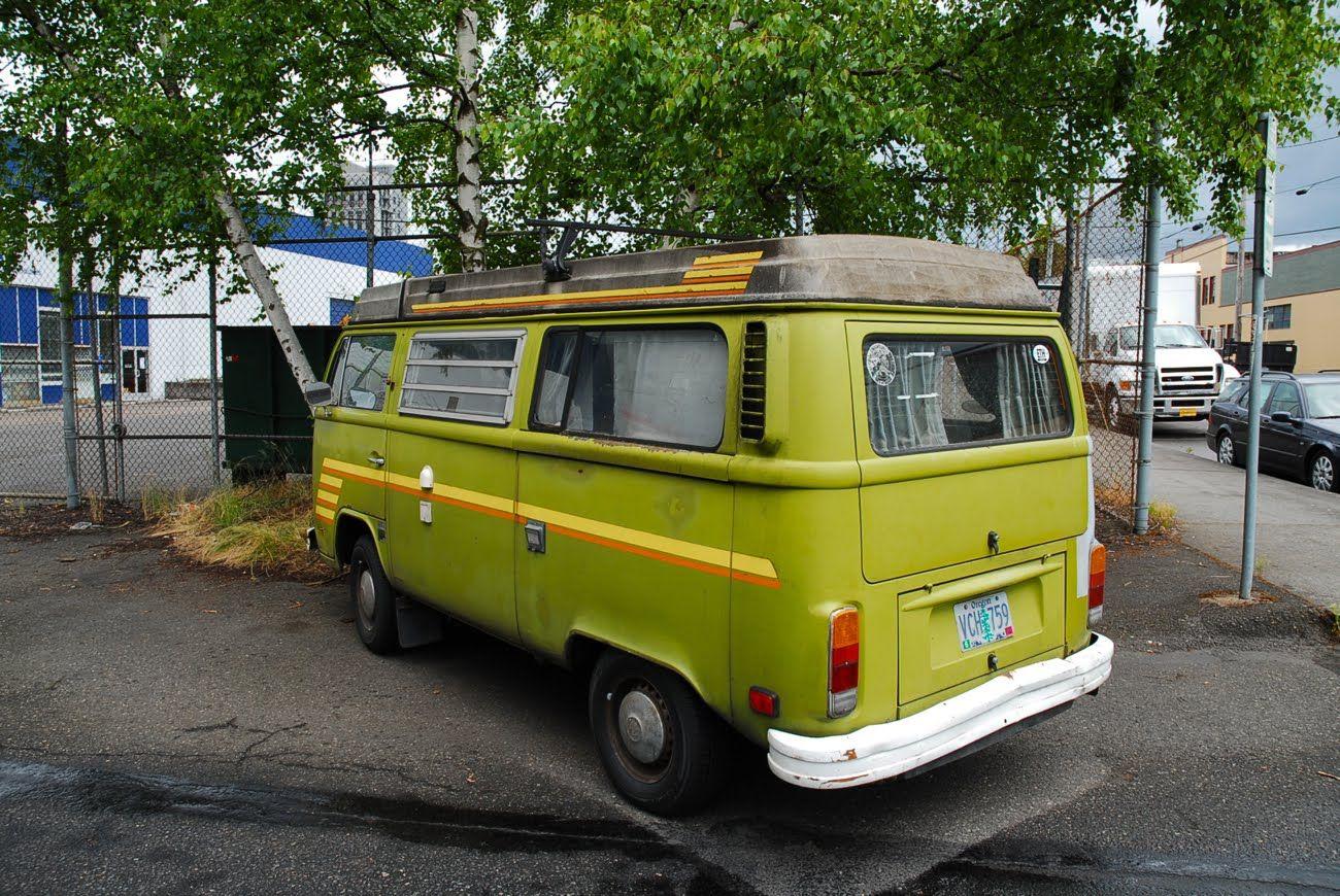 1977 Volkswagen Westfalia.