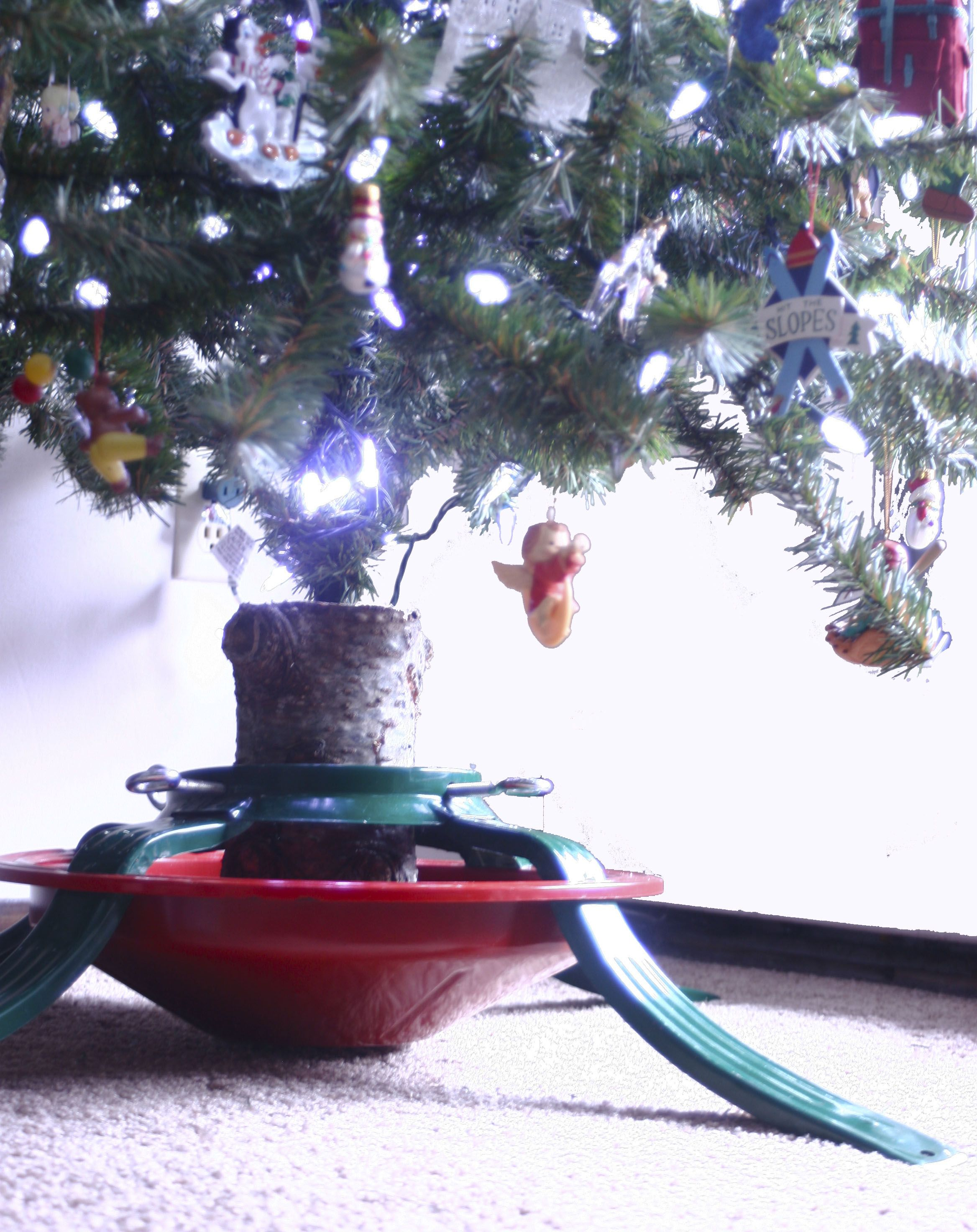 Creative Way To Give An Artificial Christmas Tree New Life Our