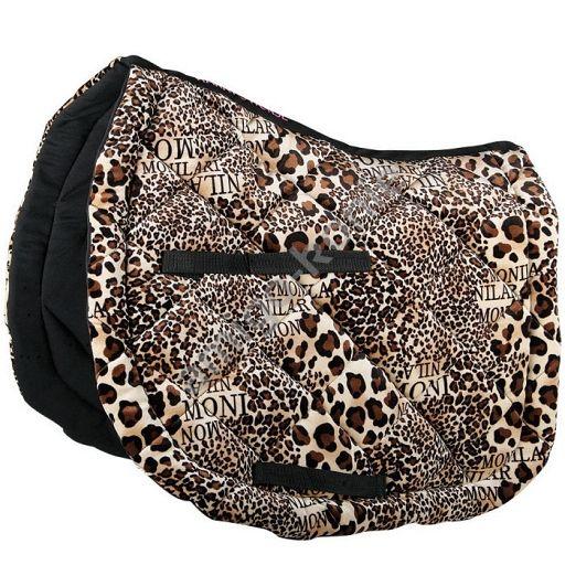 80 Harry S Horse Potnik Czaprak Pelny Leopard Leopard Harrys Duffle