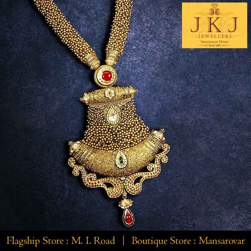 Jkj Jewellers Jaipur Is A Name That Has Been A Symbol Of Trust And Quality For Years Flagship Antique Bridal Jewelry Gold Wedding Jewelry Gold Jewelry Stores