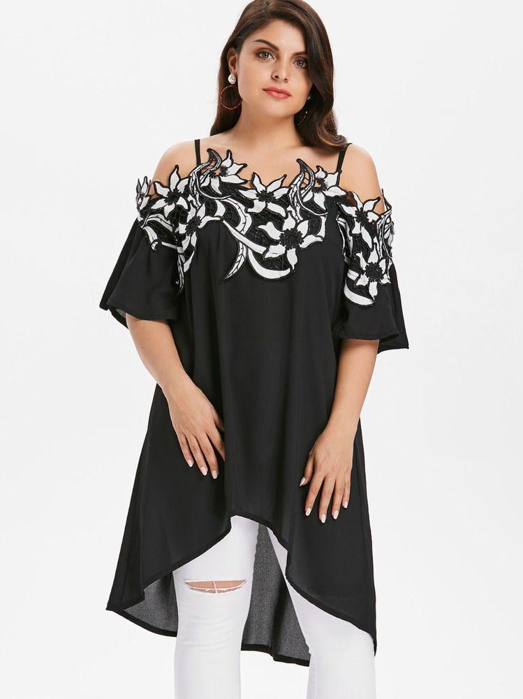 6a906ccf8 Blusa De Moda Para Mujer Blusas Tallas Grandes Elegantes Encaje Plus Size  Rojas #MercantilExpress #Blouse #Casual