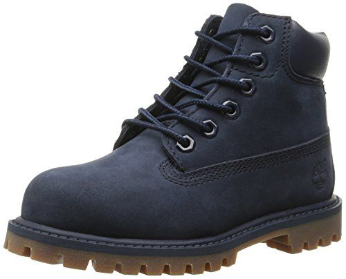 1aa9c867cd66af Timberland 6 Inch Premium Waterproof BT Boot (Toddler/Little Kid),Navy  Monochrome