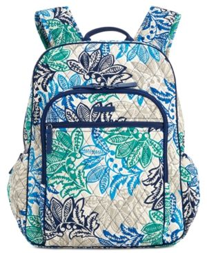 Vera Bradley Campus Backpack - Santiago   Products in 2019 ... 50a85a6f9a