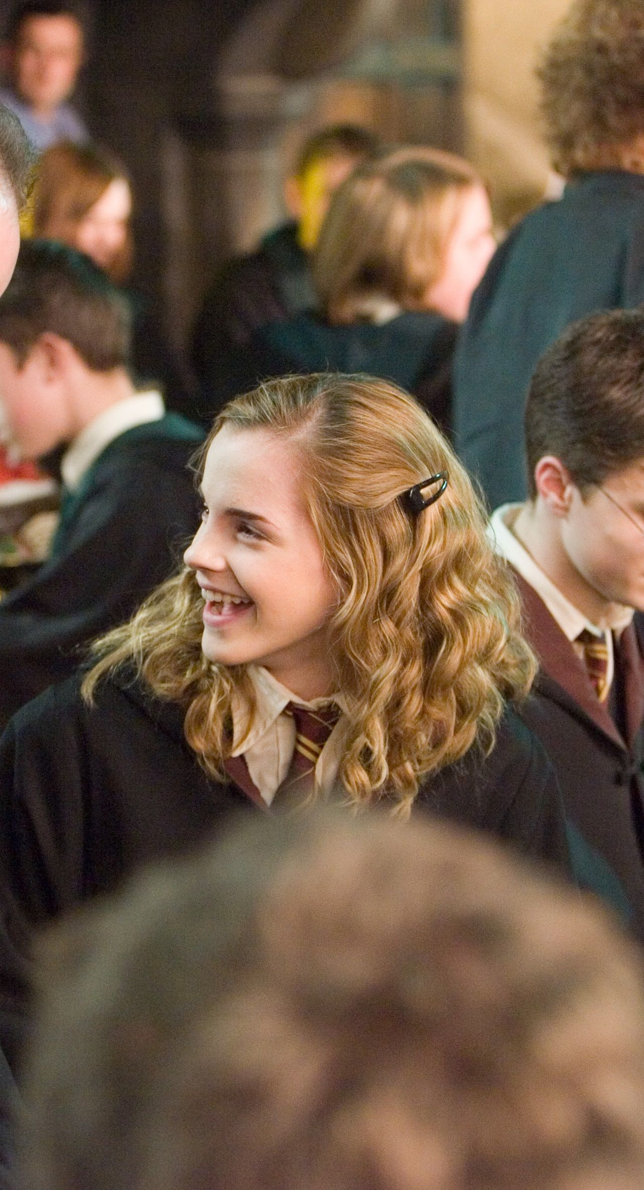 Emma Watson In Harry Potter And The Order Of The Phoenix Fernsehserie Harry And Hermione Hermine Granger Harry Potter Film