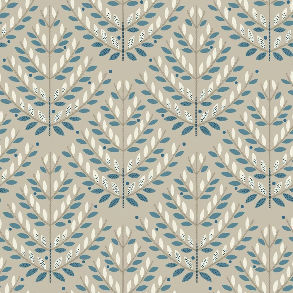 York Wallcoverings 56 Sq Ft Norrland Wallpaper Beiges