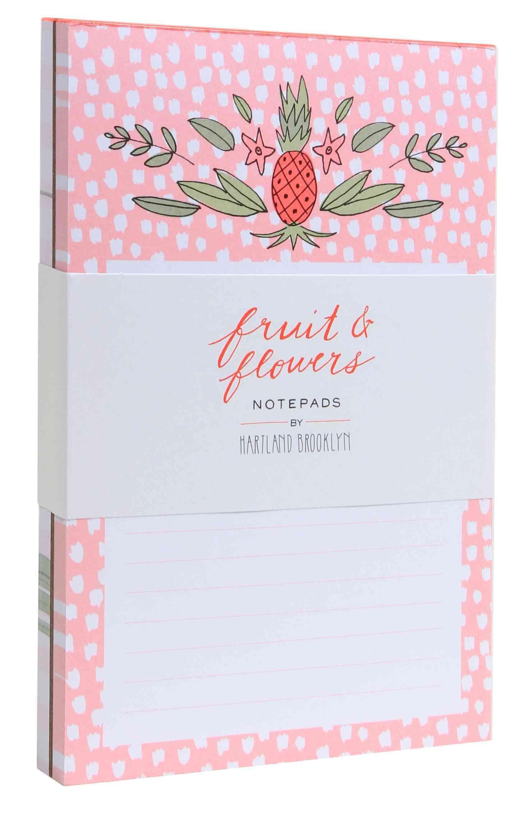 Fruit & Flowers Notepads