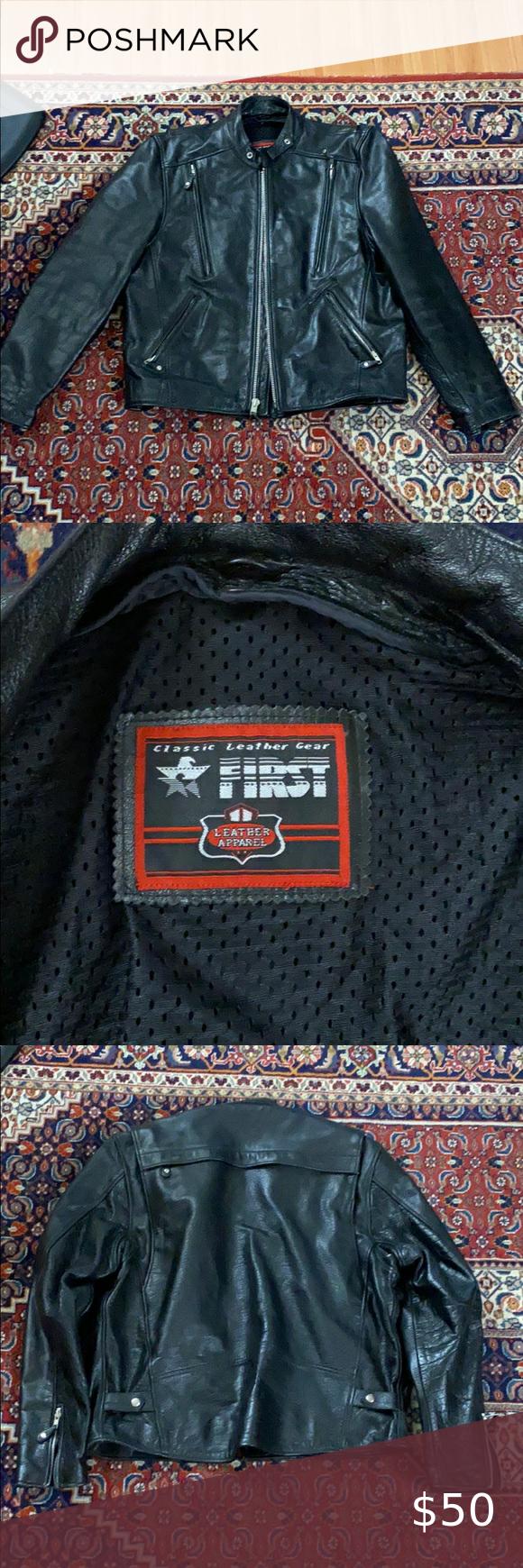Motorcycle jacket in 2020 Black motorcycle jacket