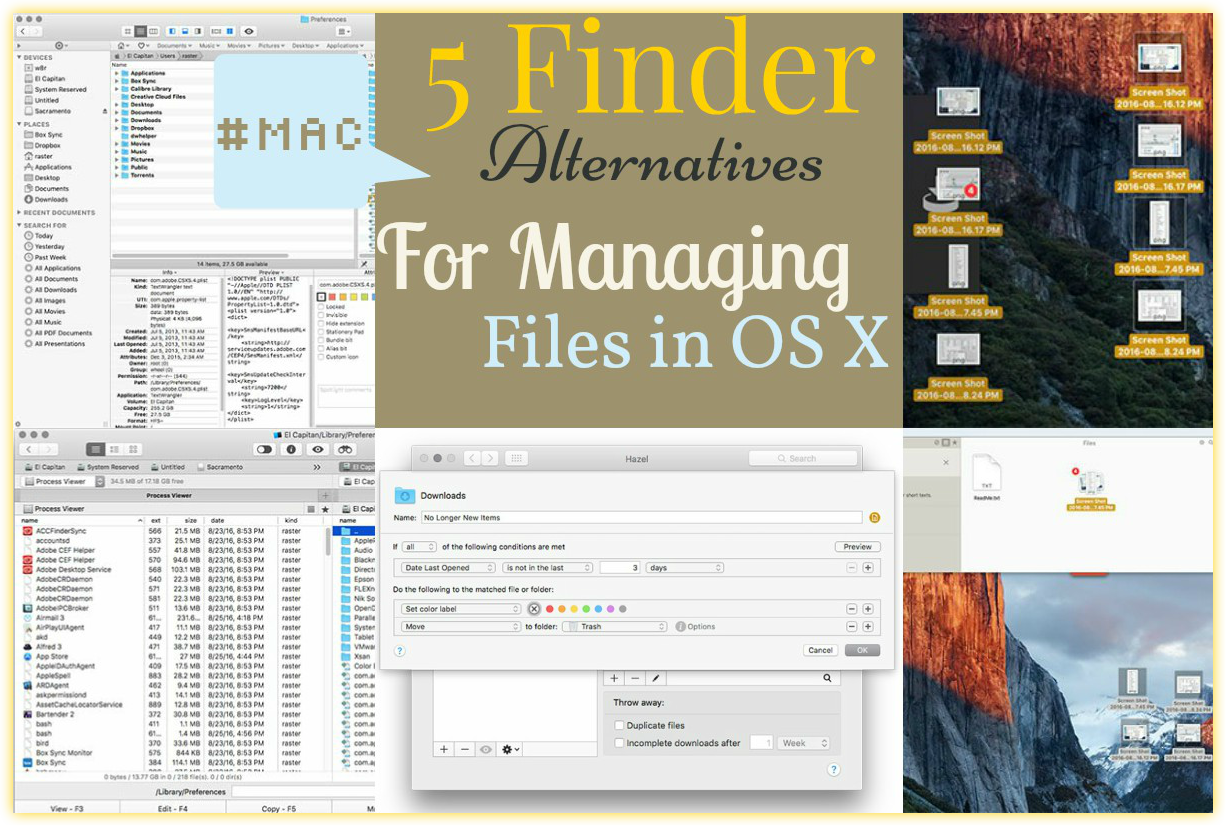5 Useful Finder Alternatives to Move and Manage Files in OS