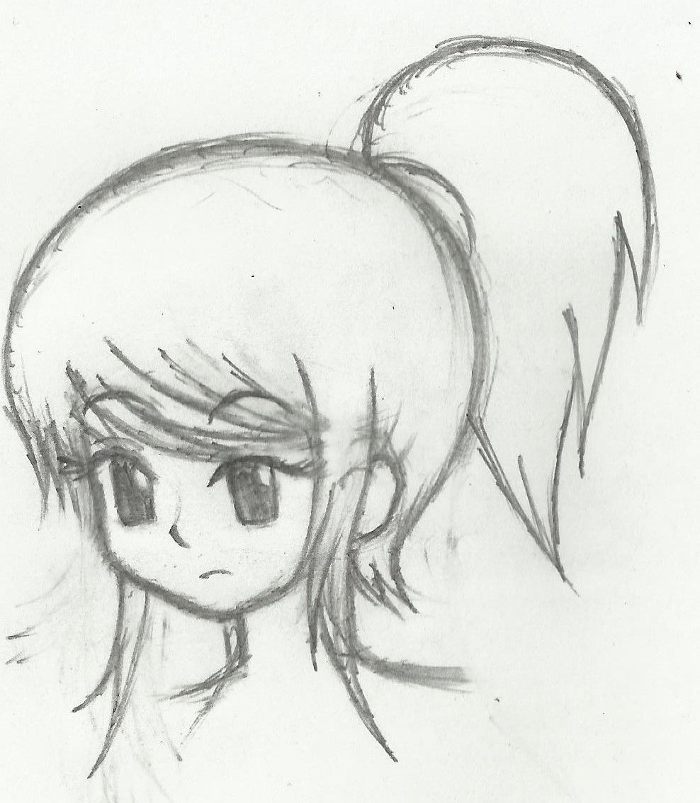 DeviantArt More Like Another Ponytail Girl By Circusmonster123 | Drawing Faces/Hair References ...