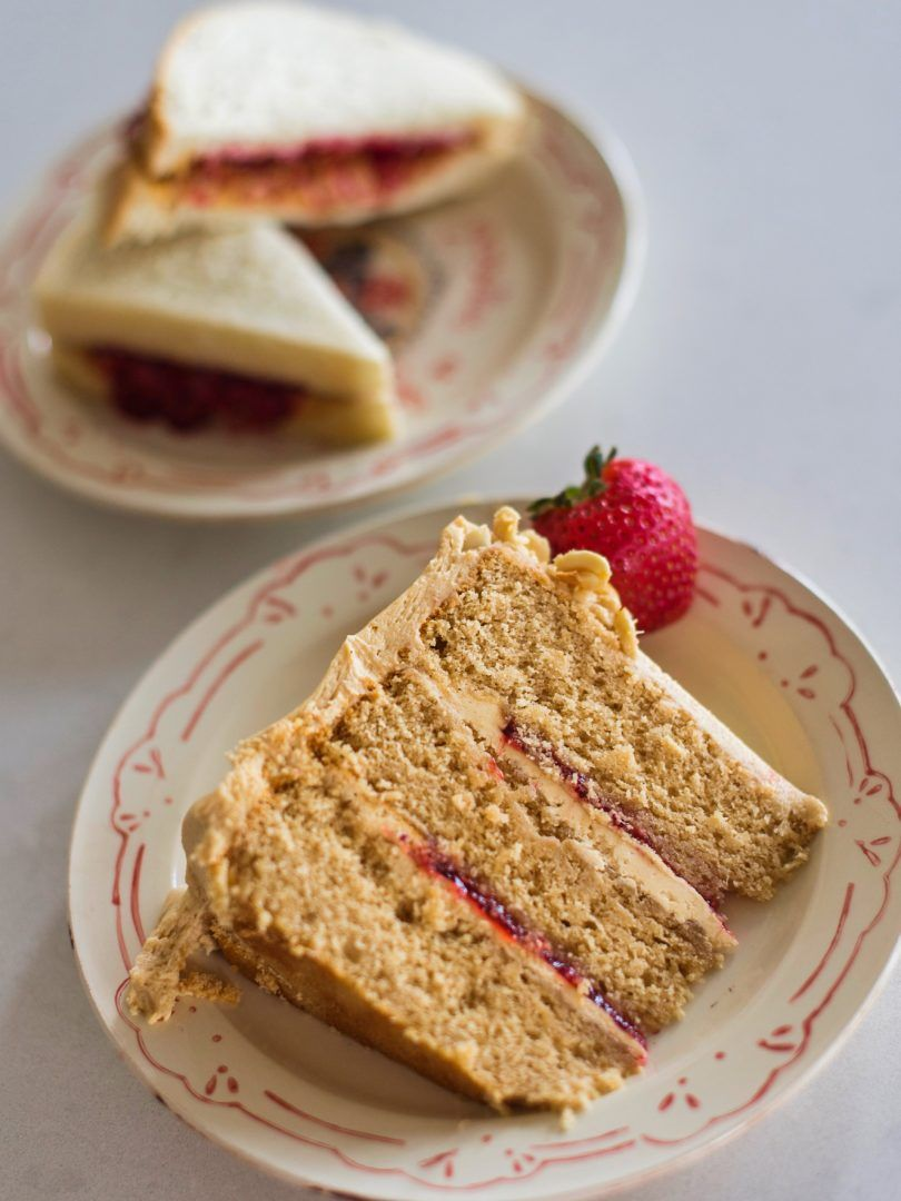 Peanut butter and jelly cake recipe peanut butter and