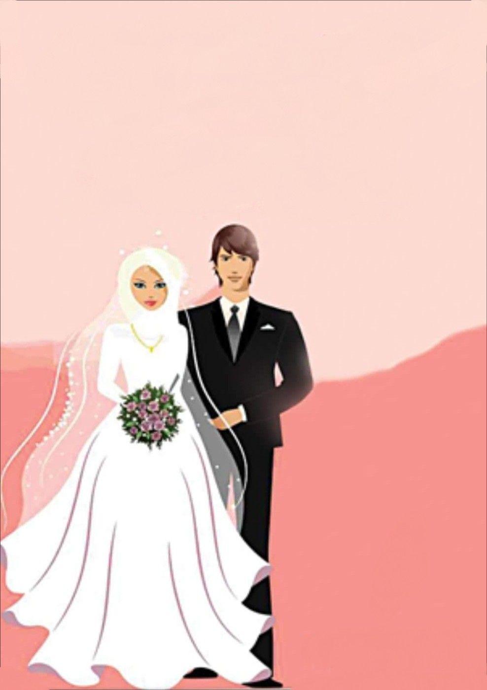 Wedding Anime Gambar Pengantin Kartun Gambar Perkawinan