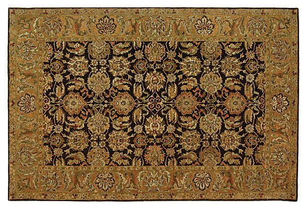 Louisa Rug, Brown/Gold on OneKingsLane.com