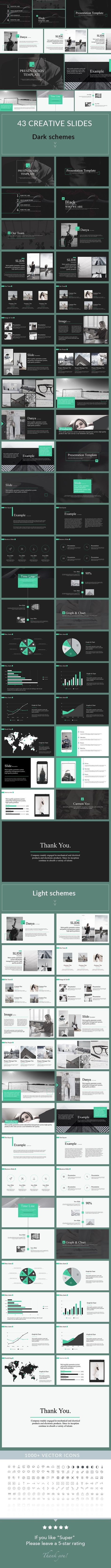 Mark - Clean & Simple Keynote Template. Download here: <a href ...