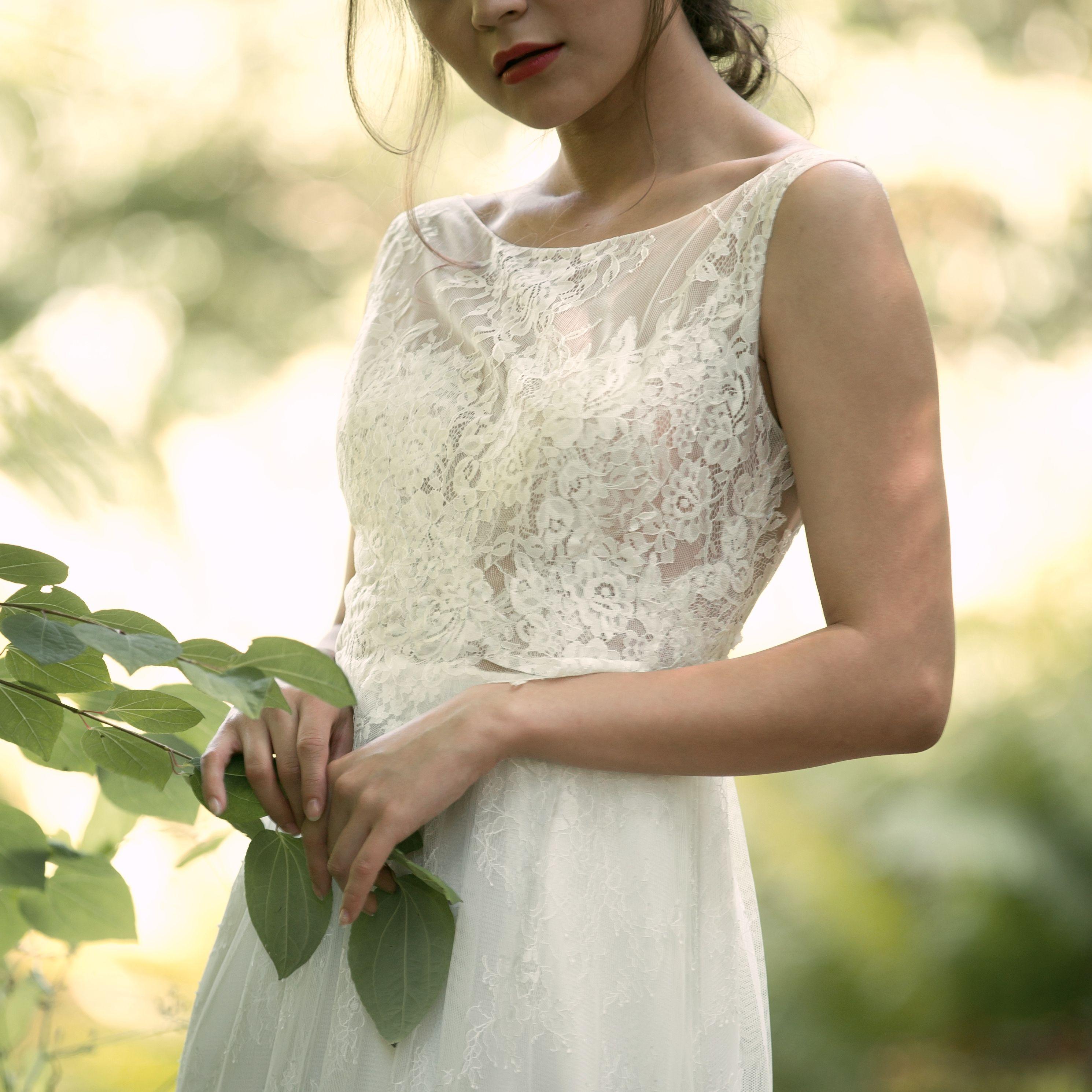 Brautkleid Aalasie, Spitze, Seide, Lace, wedding dress, bridal style ...