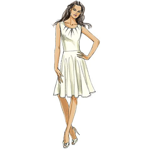 Fashion model dress drawings empire