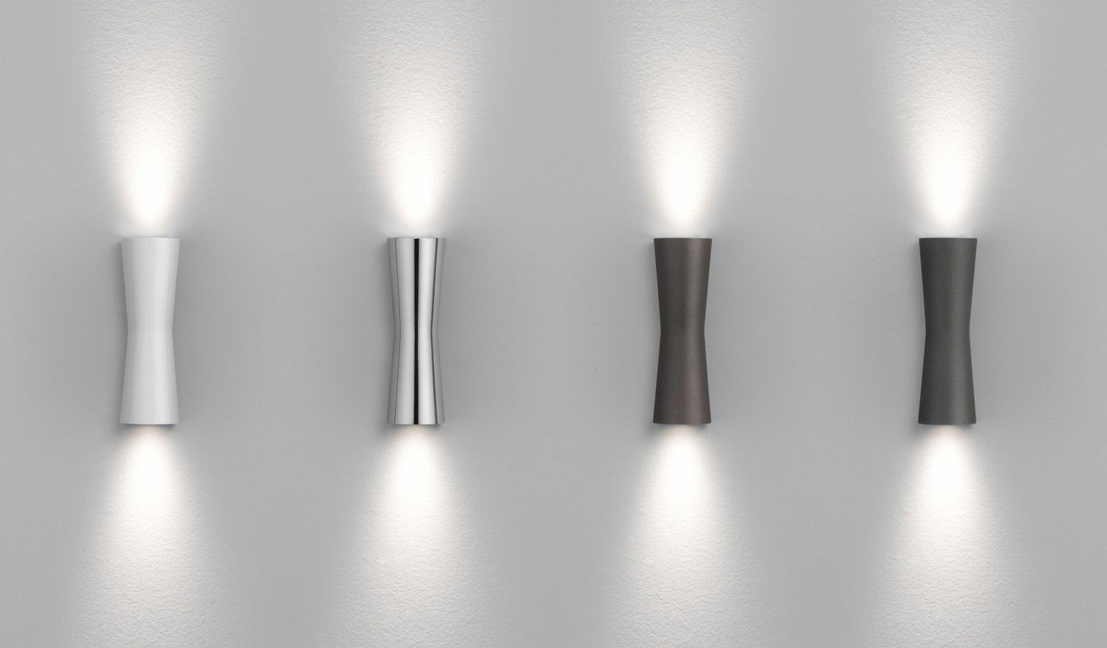 up and down wall lamp flos clessidra