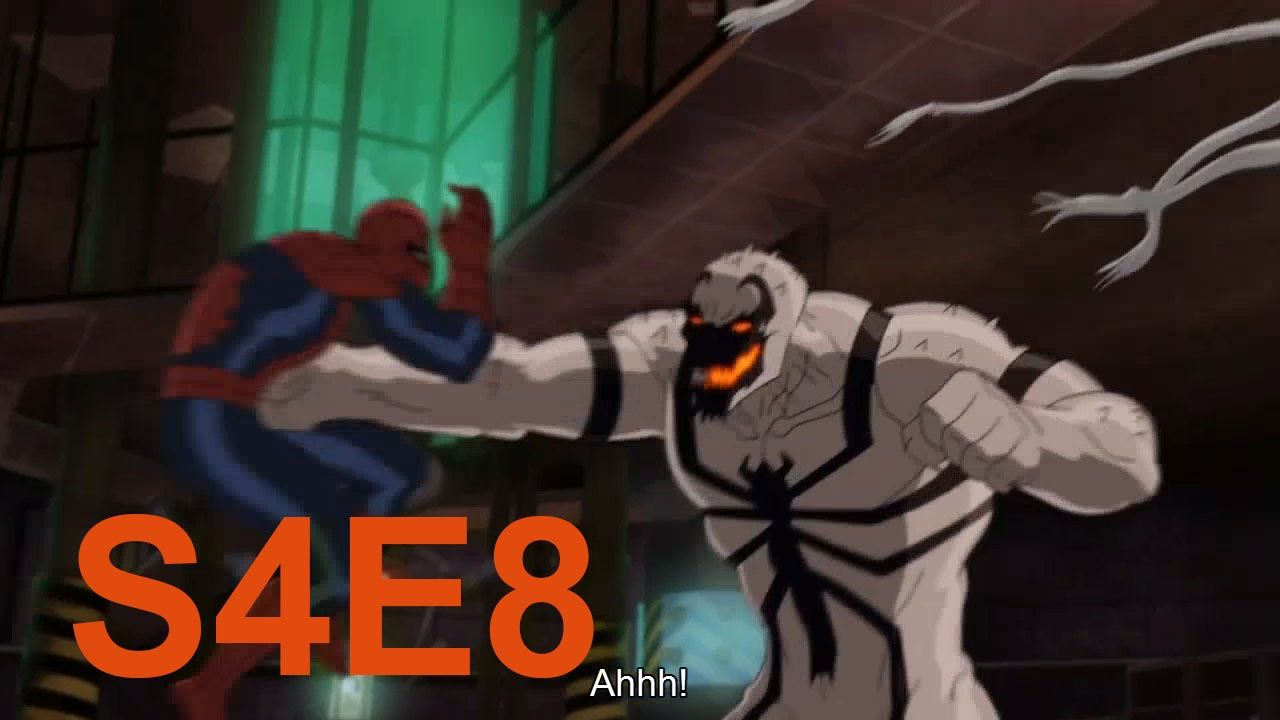 Spiderman Vs Venom Ultimate Spider Man The Sinister 6 S04e08