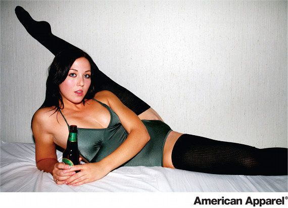 American Apparel Print Ad With Images American Apparel Ad