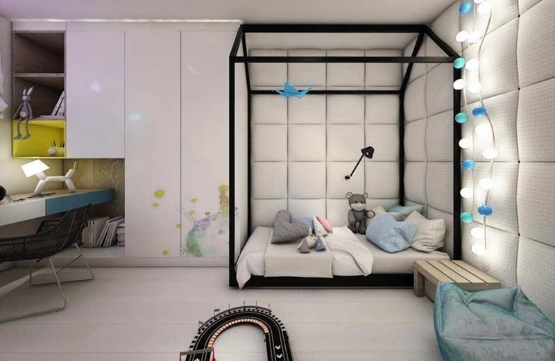 Hervorragend Montessori Bett: Inspirationen Zum Einbringen Der Möbel In Die Dekoration  #kinderbett #schlafzimmer