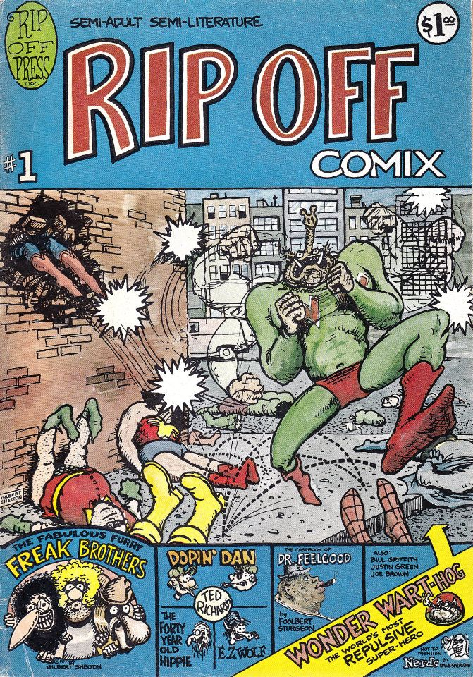 Pin by M73Kevin . on USA Comix Gilbert shelton