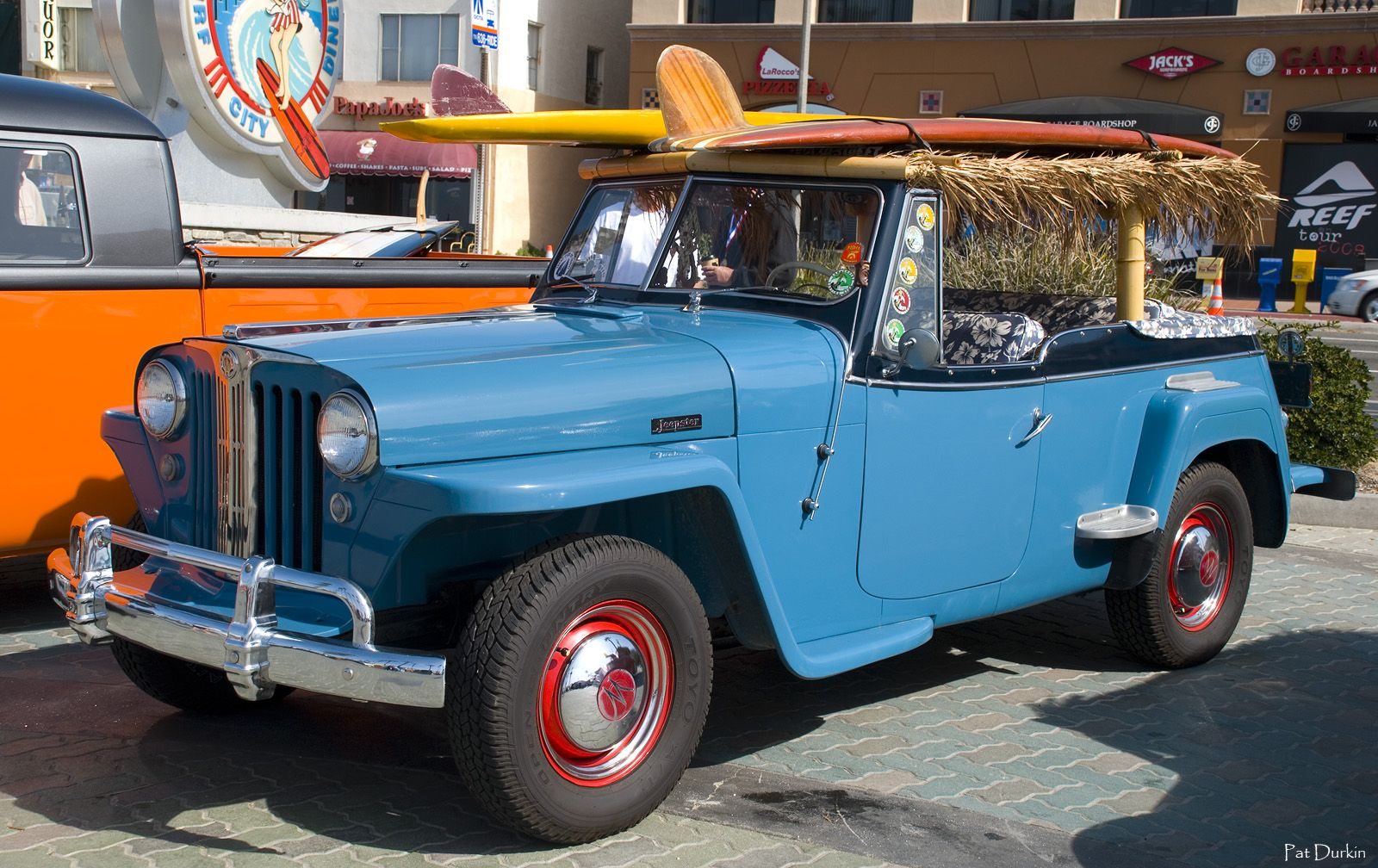 '48 Jeepster all surf-wagon'd out