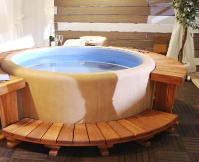 Image result for Salt Water Hot Tub