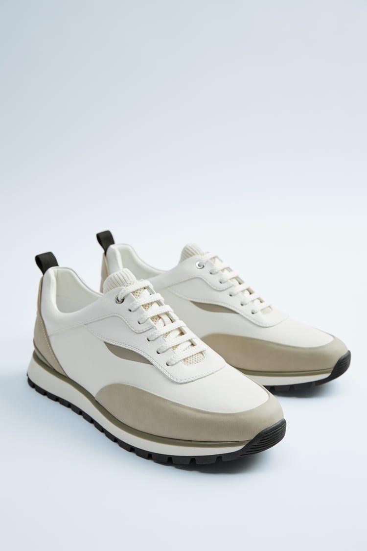 Sneakers, Retro sneakers, Grey sneakers
