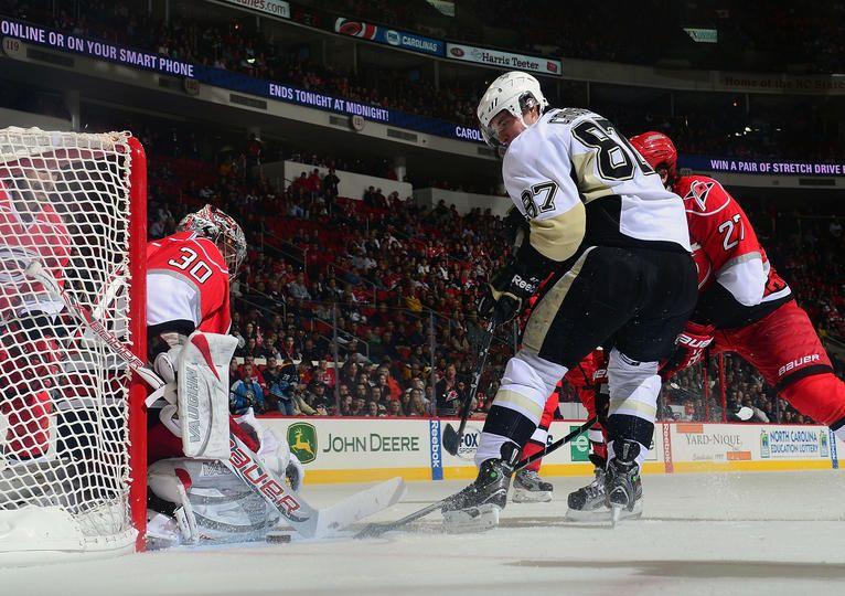 Sidney Crosby February 28 2013 Pittsburgh Penguins vs. Carolina Hurricanes