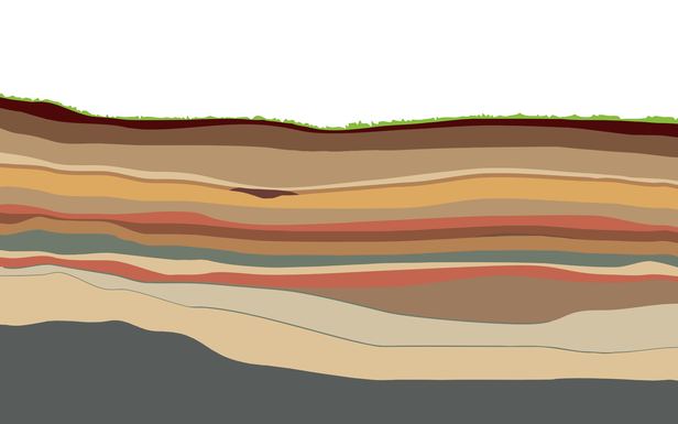 Stratigraphy By Andrea D Simple Desktops Minimalist Desktop Wallpaper Desktop Wallpaper Minimal Wallpaper