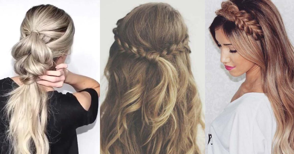Easy Hairstyles For Long Hair Amazing 37 Easy Hairstyles For Work  Easy Hairstyles Shoulder Length Hair
